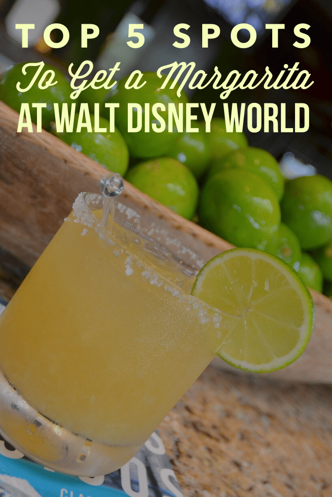 Walt Disney World is a great place to grab a margarita! Here are the top 5 spots to get a margarita at Walt Disney World.