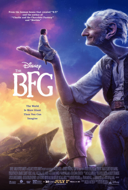 The BFG is a wonderful family movie–take he kids!