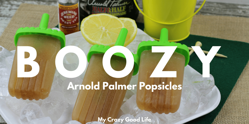 Boozy Arnold Palmer Pops