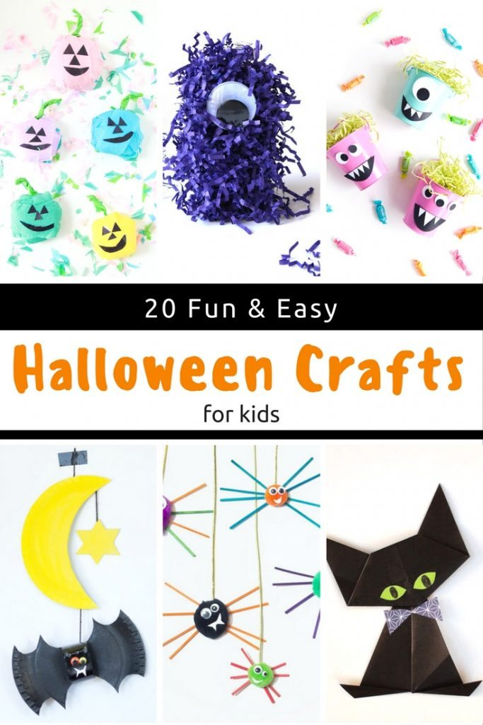 These fun and easy Halloween crafts for kids are perfect for parties or just a little DIY downtime.