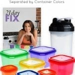 21 Day Fix Recipes by Container Color