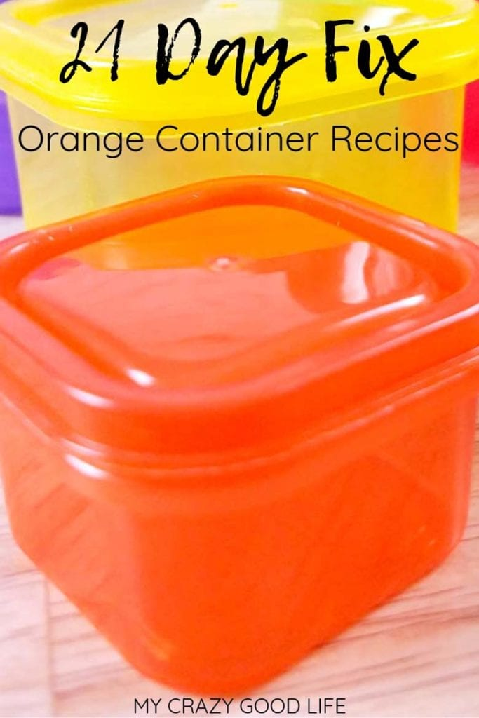 21 day fix orange container