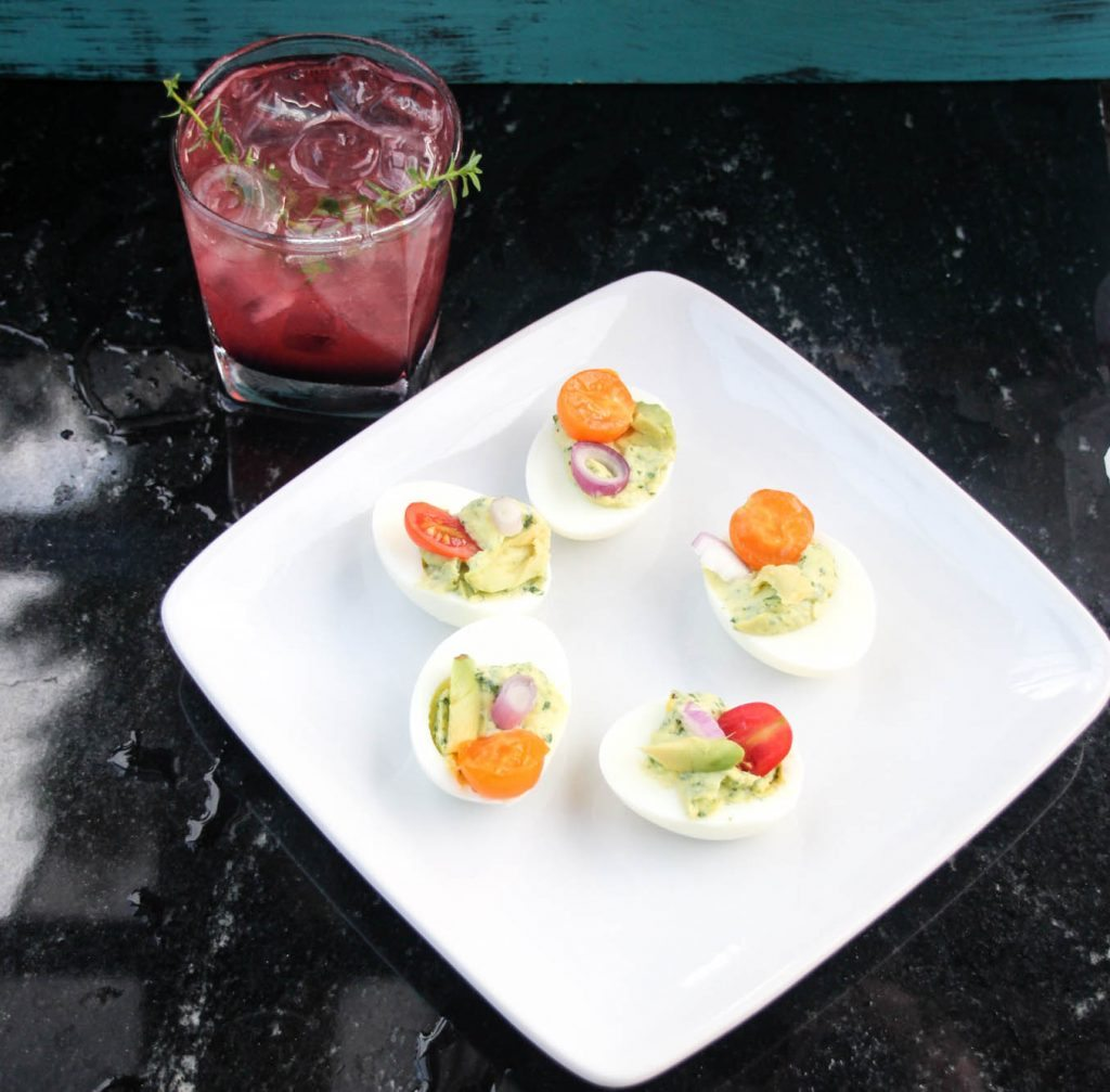 Happy Hour Recipes don't have to be complex in order to wow your guests and their taste buds! This combo is a winner and it's simple to whip up!