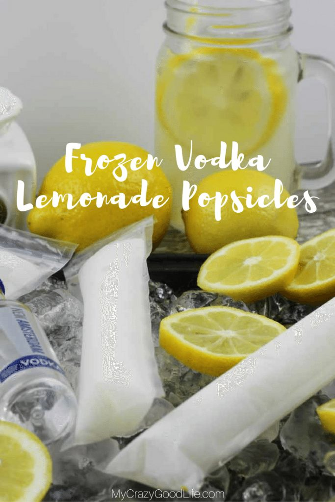 Popsicles are not just for kids anymore! There are TONS of amazing alcoholic adult popsicle recipes out there. These Frozen Vodka Lemonade Pops are awesome!