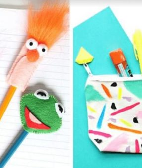 20 Awesome Back to School DIY projects to get your kids excited about the new school year! These fun back to school tutorials are the perfect summer craft project!