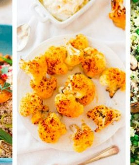 I'll admit–I'm not a huge fan of cauliflower. That has encouraged me to find a few easy cauliflower recipes to have in my menu! Here are 20 Delicious Cauliflower Recipes.