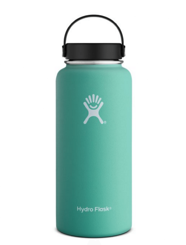 The Hydro Flask is a game chnger when it comes to drinking enough water! Your water will stay ice cold for hours, even in Arizona!