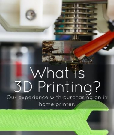 What is 3D Printing? It's the future of printing! Here are the basics of in home 3D printing, as well as some of the fun objects we've been printing!
