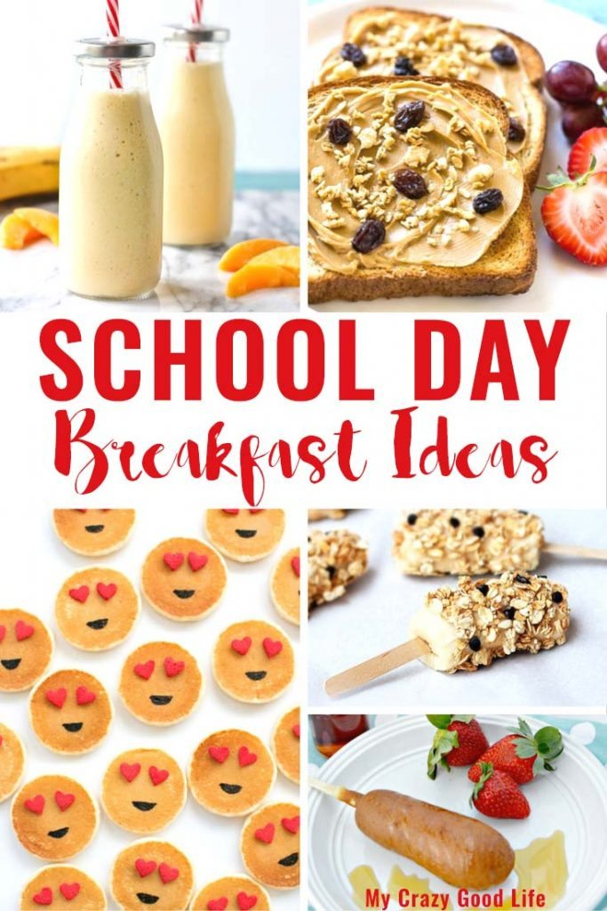 Some of these school day breakfast recipes can be made in just a few minutes, while others can be prepared the evening before. Either way, you'll have smiling kids in the morning!