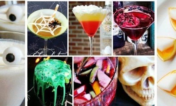 Adult Halloween Drinks