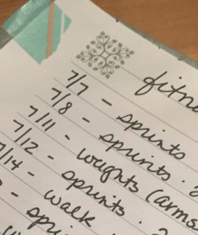 Thinking about getting in on the bullet journal craze? Using a bullet journal for fitness is a great way to keep track of your workouts, meals, water intake, and so much more! Here are some examples for you.