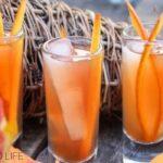 Apple Cider Margarita Shooters with Pumpkin Zest
