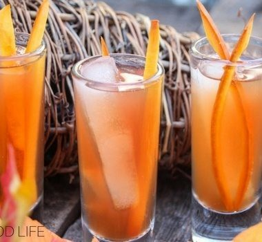 Apple Cider Margarita Shooters with Pumpkin Zest are a great way to turn fall into margarita season! Celebrate the season with this awesome drink recipe.