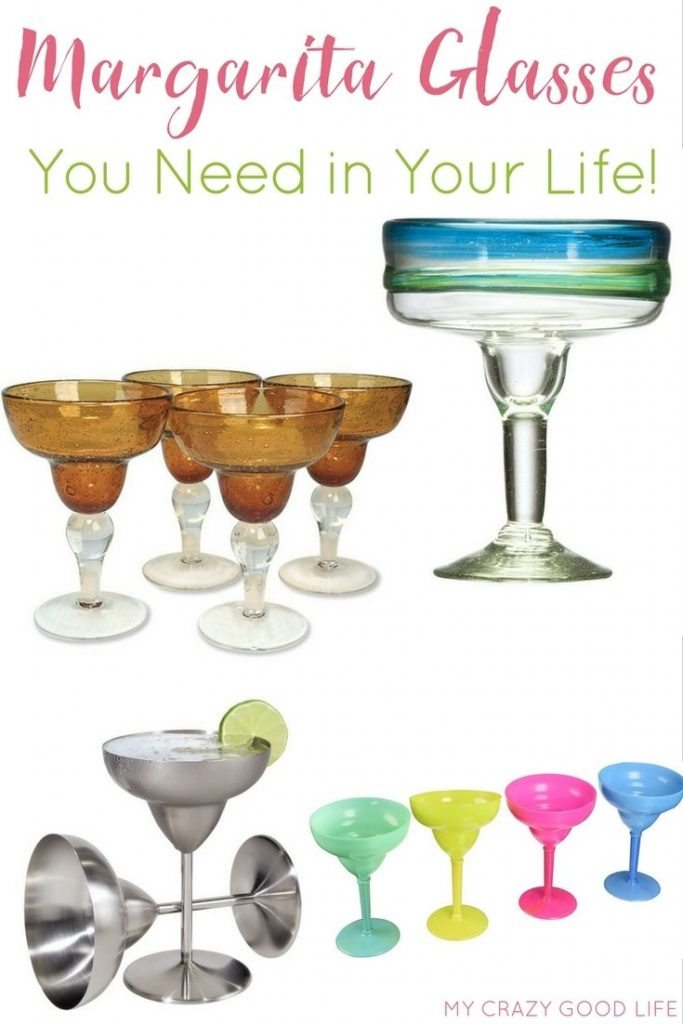 Life is always better with a margarita in your hand...Now you can be living the good life with one of these perfect margarita glasses holding that drink!