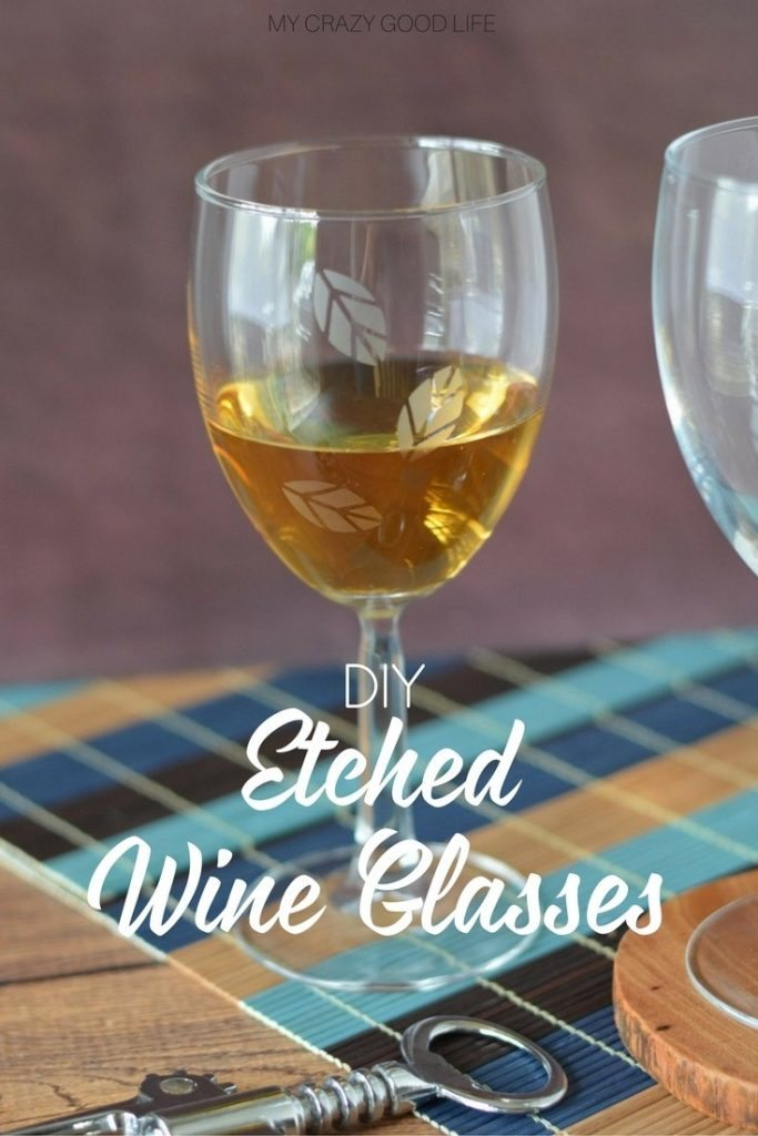 The holidays are the perfect time for some Etched Wine Glasses. You can make them yourself with this easy to follow tutorial! Perfect for gifts as well.