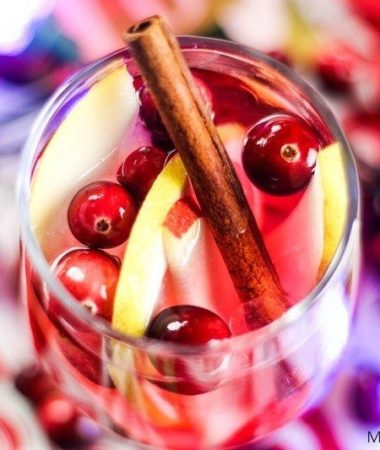 Apple Pear Sangria will blow you away! This tasty treat is perfectly light and crisp while also packing a punch. Perfect for parties and get together!
