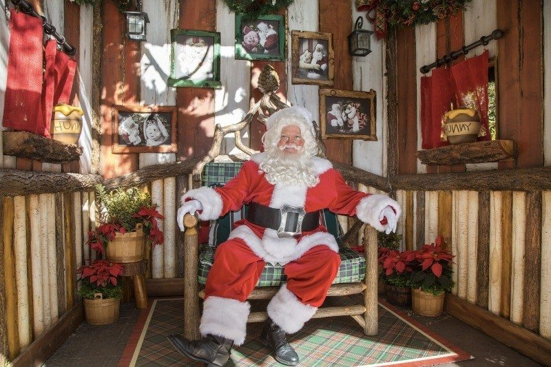 You can find St. Nick at Redwood Creek Challenge Trail in California Adventure
