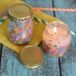 DIY Birthday Candles
