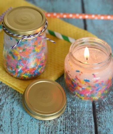 Make some of these festive and beautiful DIY birthday candles. They're fun, easy, and make a great addition to any DIY gift basket!