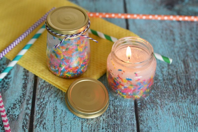 DIY Birthday Candles