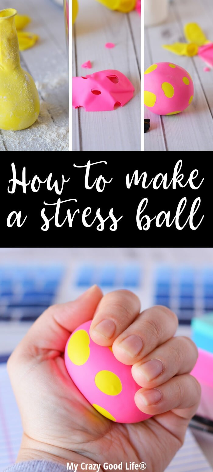 I've wondered for a while how to make a stress ball with a homemade balloon and I love this simple and easy technique. It's an easy craft for kids, and using a homemade stress ball is a great way to be mindful of our emotions. This DIY balloon stress ball is an easy activity.