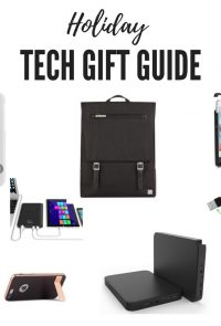 Everything you want for Christmas from the top tech brands this year! Holiday Tech Gift Guide