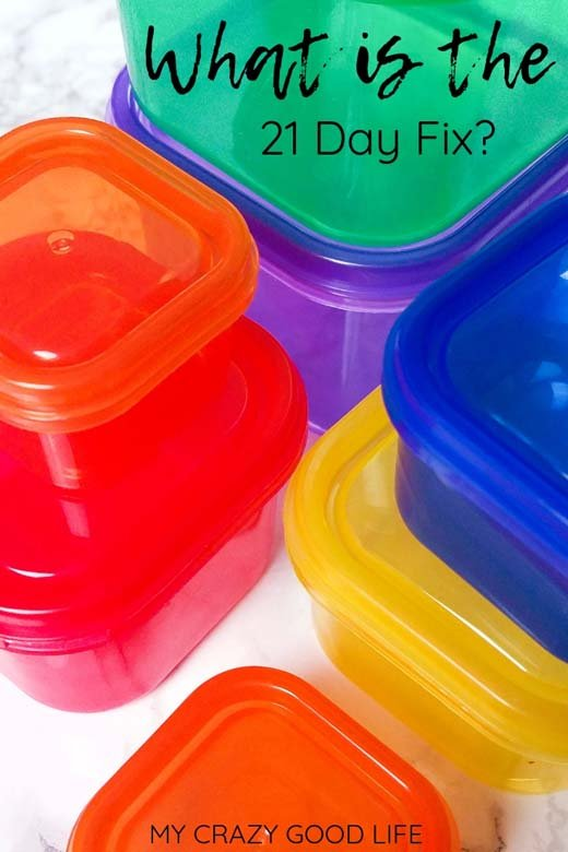 The 21 Day Fix is a 21 day challenge from Beachbody. The thing is, it's not just a diet. It teaches you portion control and the right foods to eat. This post explains what foods to eat on the 21 Day Fix, what the colored containers are for, and how to make the 21 Day Fix a lifestyle. #21dayfix #beachbody #weightloss #diet