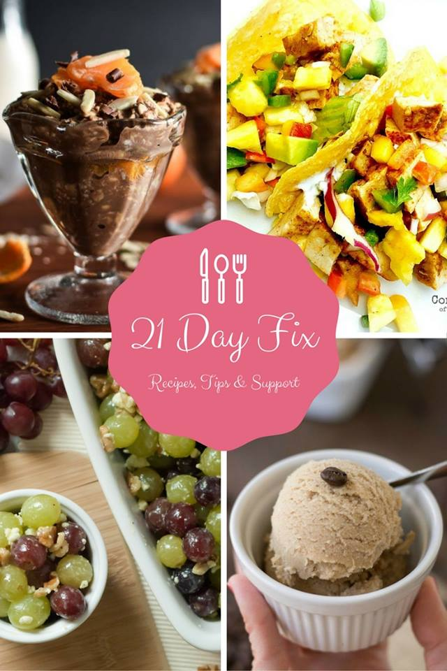 LIVE 21 Day Fix Support Group: Open Now!