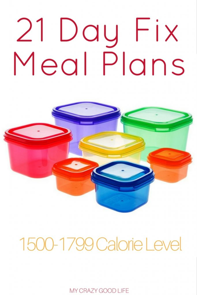21 Day Fix Meal Plans for the 1500-1799 range are the best way to stay on track with your diet and overall health. With no guess work you can rest easy!