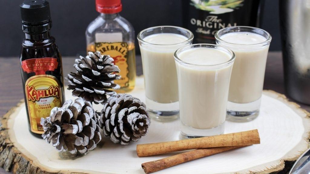 Cinnamon Latte Shots