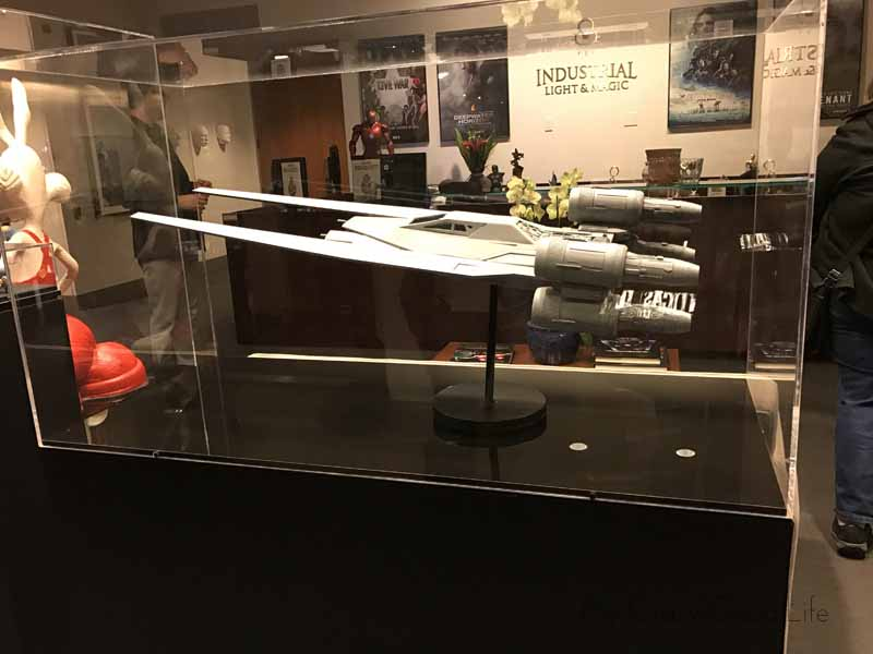 The first relic from Rogue One to be displayed at LucasFilm