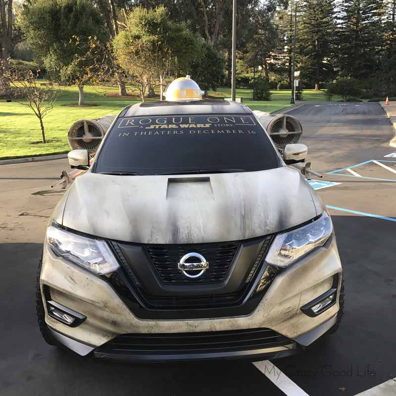 Nissan's Rogue One Concept Car