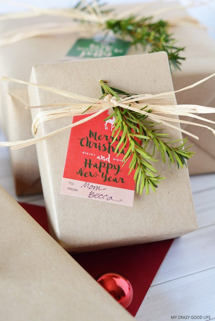 Tis the season for wrapping presents! Use these printable Christmas gift tags to personalize and beautify all your presents this year!