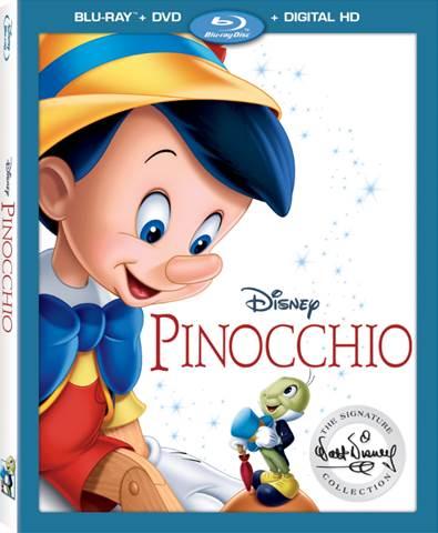 Pinnochio on Blu-Ray