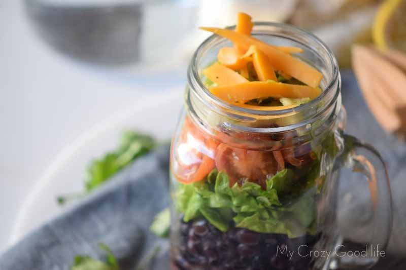 21 Day Fix Mason Jar Salad Recipe | Gluten Free