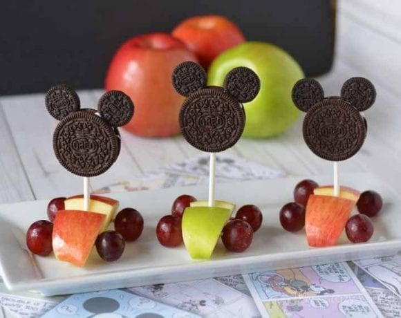 Mickey Race Car Snack and Mickey and the Roadster Racers!