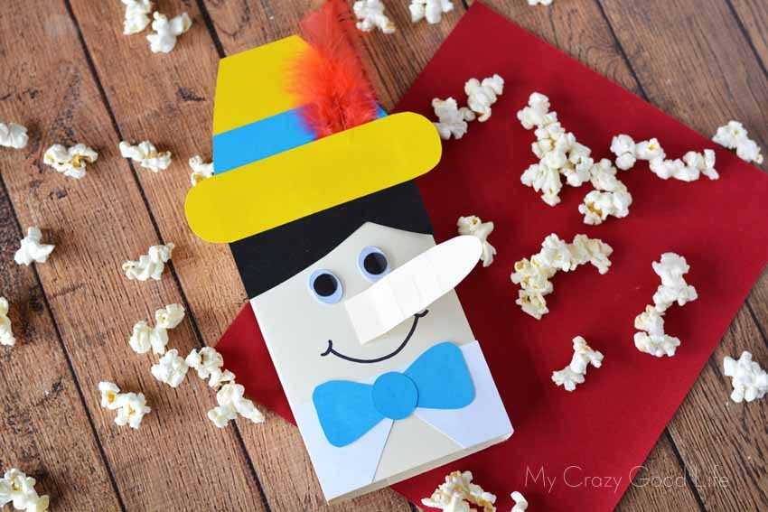 Pinocchio Blu Ray Release | Pinocchio Party Craft