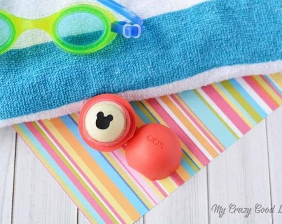 If you're having a Mickey party or are crafting some Fish Extenders for your Disney Cruise, this EOS DIY Mickey Mouse Lip Balm is the perfect craft.