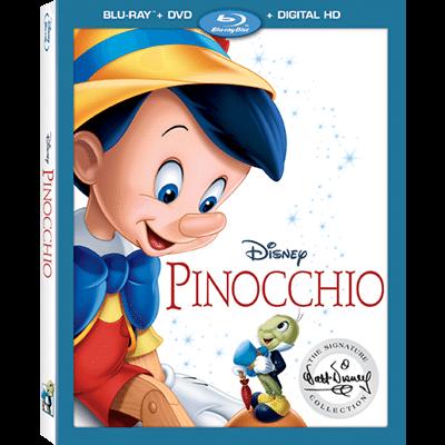 Pinocchio Blue Ray