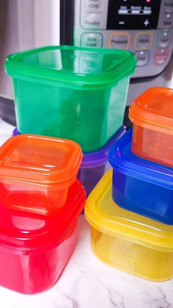 beachbody portion containers and instant pot