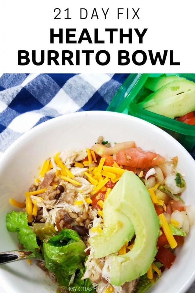 This 21 Day Fix Burrito Bowl recipe is prefect for meal prep day! Cook this Instant Pot Burrito Bowl recipe once and eat all week long! | Weight Watchers Dinner Recipes | Weight Watchers Burrito Bowls | 21 Day Fix Dinner Recipe #instantpot #pressurecooker #IPcooking #pressurecooking #21dayfix #beachbody #weightwatchers #smartpoints