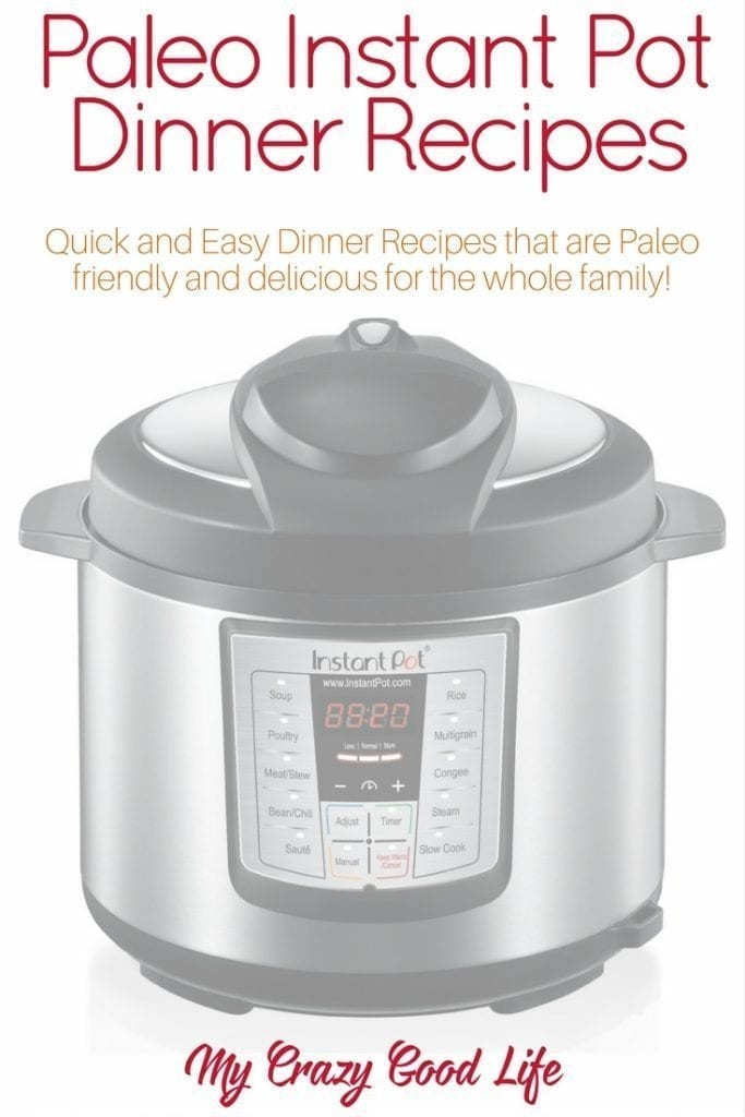 Paleo Instant Pot recipes are a great way to make sure that you can prepare a healthy meal in a hurry. The whole family will love these tasty meals!