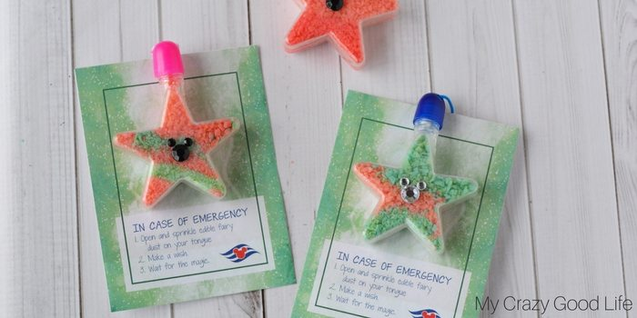 Disney Cruise Fish Extender Idea | Edible Fairy Dust Necklace