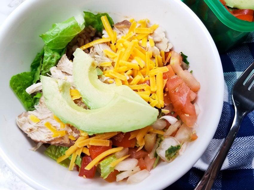 Instant Pot 21 Day Fix Burrito Bowl