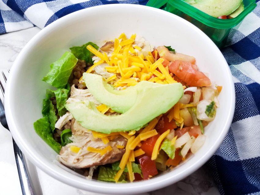 Instant Pot Vegan Burrito Bowl