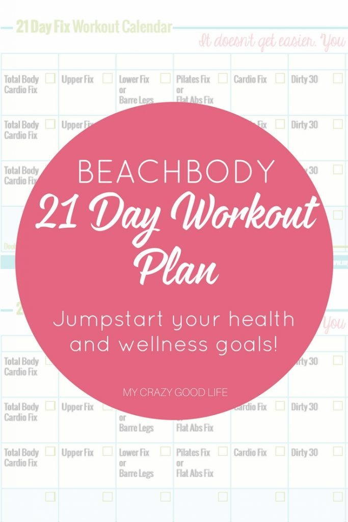 The Beachbody 21 Day Workout Plan is called the 21 Day Fix! Busy Moms can easily manage the Beachbody 21 Day Workout Plan when you follow our tried and true tips and follow along with our free printable.