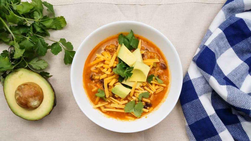 Instant Pot Spicy Sweet Potato Chili