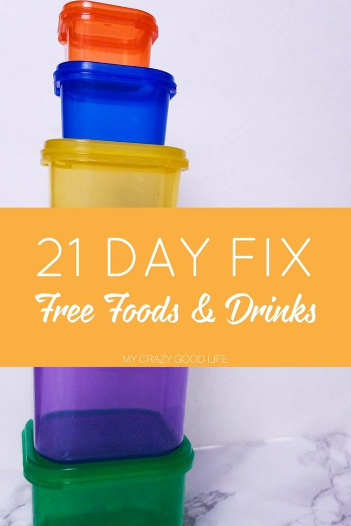 These 21 Day Fix Free Foods are things you can add to your daily meal plan that won't cost you any containers. Fill the gaps with these free food options.