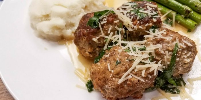 WW friendly Swedish meatballs are perfect for parties or a quick dinner!
