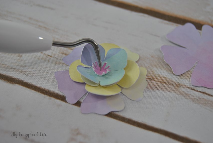 How To Make Cricut Paper Flowers Cricut Paper Crafts